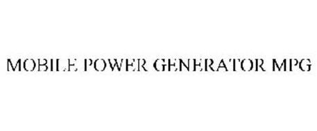 MOBILE POWER GENERATOR MPG