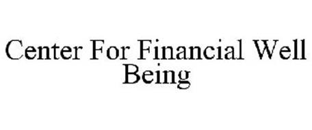 CENTER FOR FINANCIAL WELL BEING