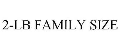 2-LB FAMILY SIZE