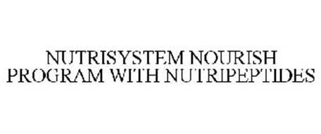 NUTRISYSTEM NOURISH PROGRAM WITH NUTRIPEPTIDES