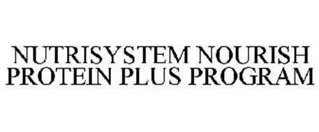 NUTRISYSTEM NOURISH PROTEIN PLUS PROGRAM