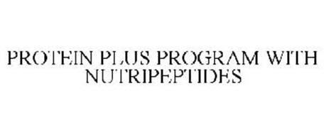 PROTEIN PLUS PROGRAM WITH NUTRIPEPTIDES