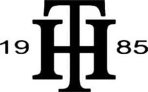 e2e4b1e6dc8 19 TH 85 Trademark of Tommy Hilfiger Licensing, Inc. Serial Number ...