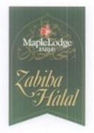 ZABIHA HALAL MAPLELODGE FARMS LTD