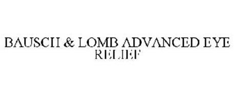 BAUSCH & LOMB ADVANCED EYE RELIEF