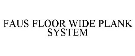 FAUS FLOOR WIDE PLANK SYSTEM