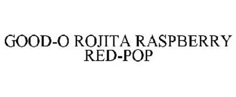 GOOD-O ROJITA RASPBERRY RED-POP
