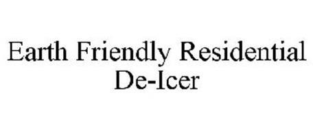 EARTH FRIENDLY RESIDENTIAL DE-ICER