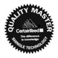 QUALITY MASTER THE ROOFING COLLECTION CERTAINTEED THE DIFFERENCE IS KNOWLEDGE SHINGLE TECHNOLOGY