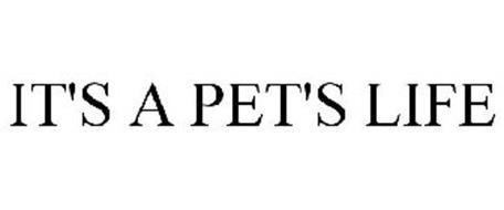 IT'S A PET'S LIFE