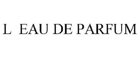 L EAU DE PARFUM