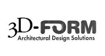 3D-FORM ARCHITECTURAL DESIGN SOLUTIONS