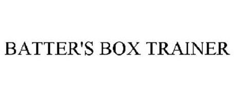BATTER'S BOX TRAINER
