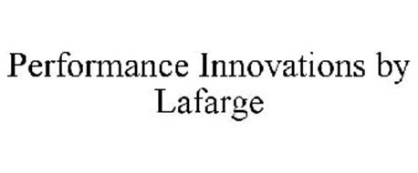 PERFORMANCE INNOVATIONS BY LAFARGE