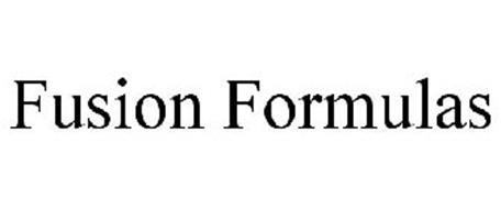 FUSION FORMULAS