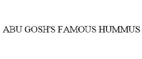 ABU GOSH'S FAMOUS HUMMUS