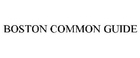 BOSTON COMMON GUIDE
