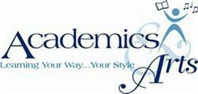 ACADEMICS & ARTS LEARNING YOUR WAY...YOUR STYLE