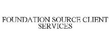 FOUNDATION SOURCE CLIENT SERVICES