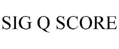 SIG Q SCORE