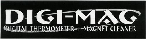 DIGI-MAG DIGITAL THERMOMETER + MAGNET CLEANER