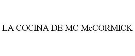 LA COCINA DE MC MCCORMICK