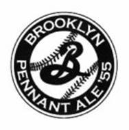 B BROOKLYN PENNANT ALE '55