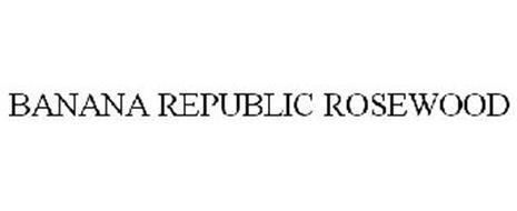 BANANA REPUBLIC ROSEWOOD