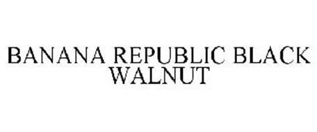 BANANA REPUBLIC BLACK WALNUT