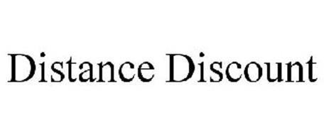 DISTANCE DISCOUNT
