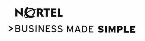 NORTEL >BUSINESS MADE SIMPLE