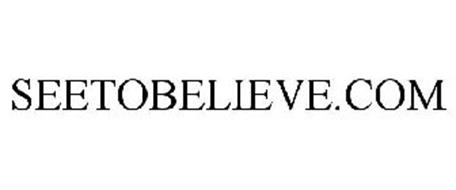 SEETOBELIEVE.COM
