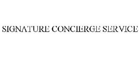 SIGNATURE CONCIERGE SERVICE