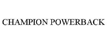 CHAMPION POWERBACK