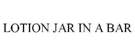 LOTION JAR IN A BAR