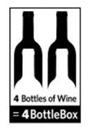 4 BOTTLES OF WINE = 4BOTTLEBOX