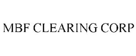 MBF CLEARING CORP