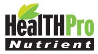 HEALTHPRO NUTRIENT