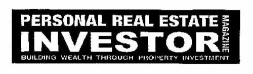PERSONAL REAL ESTATE INVESTOR MAGAZINE BUILDING WEALTH THROUGH PROPERTY INVESTMENT