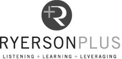 R+ RYERSONPLUS LISTENING + LEARNING + LEVERAGING