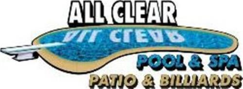 ALL CLEAR POOL & SPA PATIO & BILLIARDS