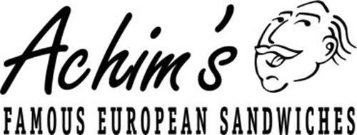 ACHIM'S FAMOUS EUROPEAN SANDWICHES
