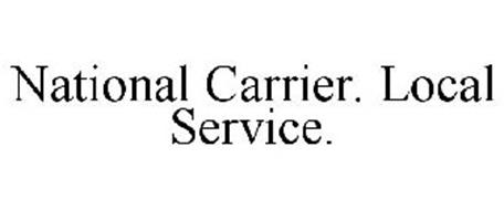 NATIONAL CARRIER. LOCAL SERVICE.
