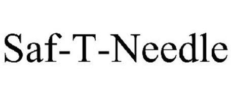 SAF-T-NEEDLE