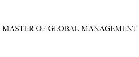 MASTER OF GLOBAL MANAGEMENT