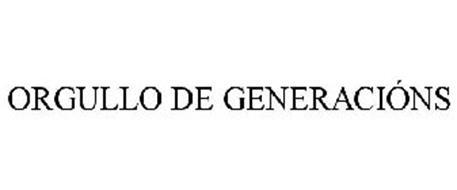 ORGULLO DE GENERACIÓNS