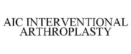 AIC INTERVENTIONAL ARTHROPLASTY