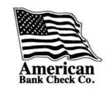 AMERICAN BANK CHECK CO.