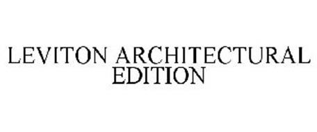 LEVITON ARCHITECTURAL EDITION