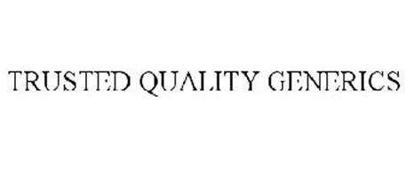TRUSTED QUALITY GENERICS